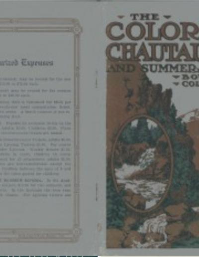 Chautauqua newsletter Summer