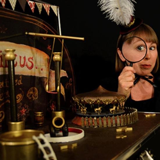 Edwina The Great and her Flea Circus
