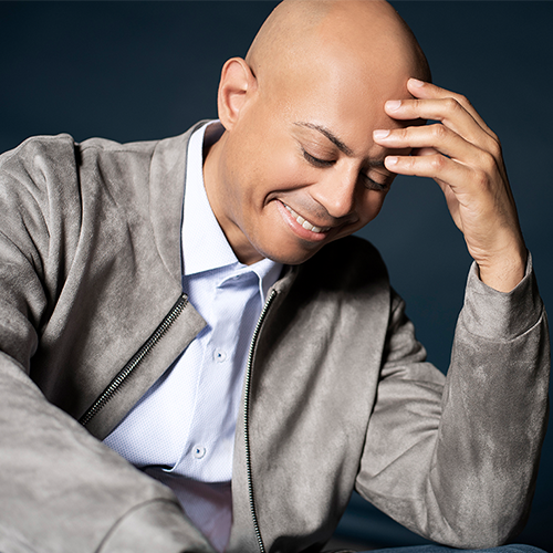 Smiling man in jacket